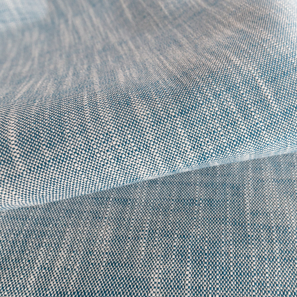 Ryder, Azure denim blue outdoor fabric from Tonic Living, formerly named as Rollo