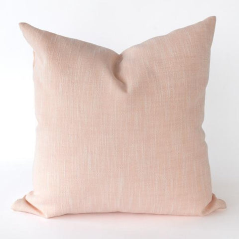 Rollo blush pink outdoor pillow by Tonic Living