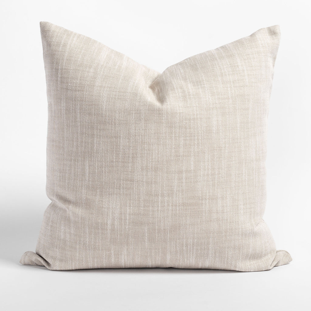 Ryder Swell, a linen tone indoor outdoor pillow from Tonic Living