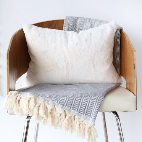 Scandi, Cream (Lumbar)