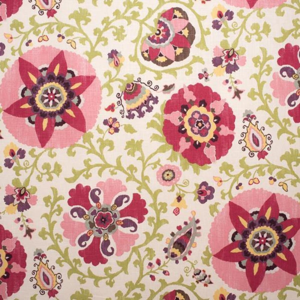 Silsila Cherry ,blossom fabric from Tonic Living