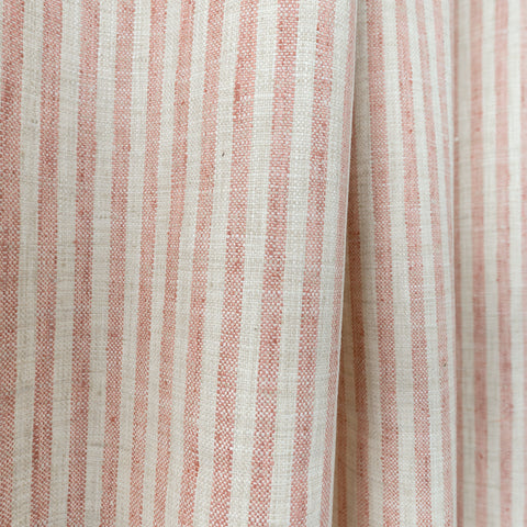 Simple Stripe fabric, washed coral, by Tonic Living