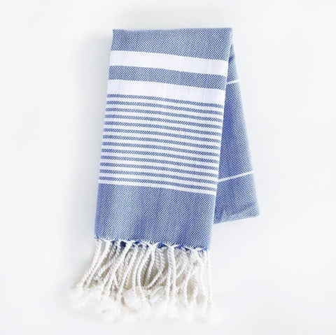 Turkish Towel - The Soho, Indigo (Hand)