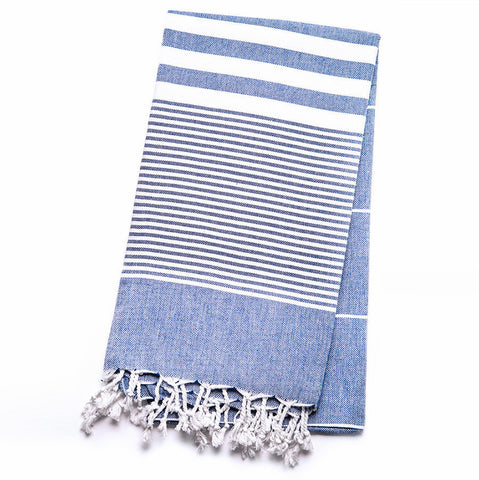 This striped, color-blocked towel is luxurious and modern-looking. Woven from 100% natural Turkish cotton, it's designed to be extra-soft to the touch. The Soho is highly absorbent, dries quickly and is the perfect complement to any bath décor.