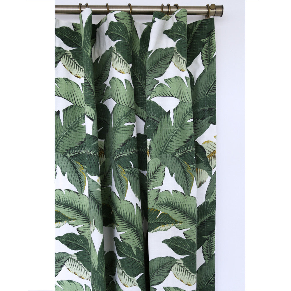 Palm shower curtain - Swaying Palms Aloe Indoor Outdoor