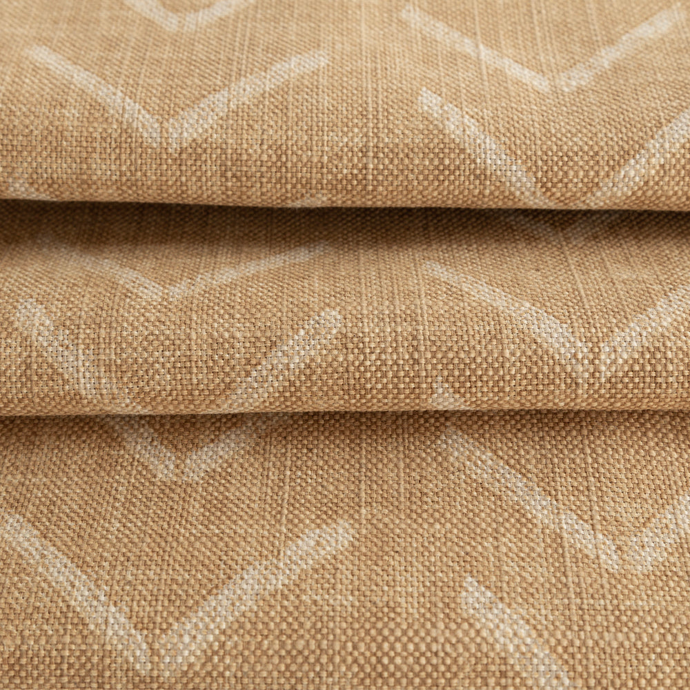 Tagus, a mudcloth inspired cork colour fabric from Tonic Living