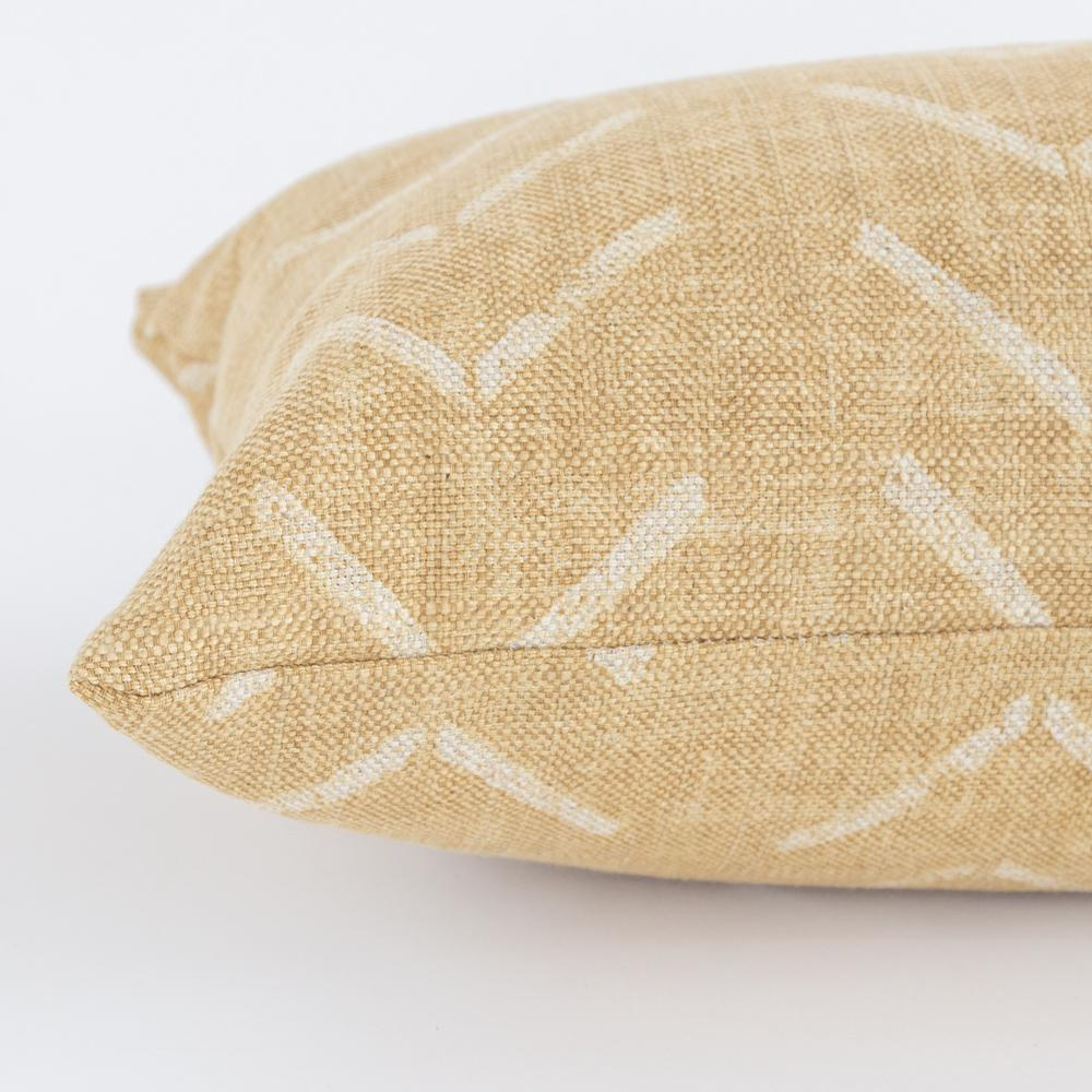 Tagus Cork, a mudcloth inspired lumbar pillow from Tonic Living