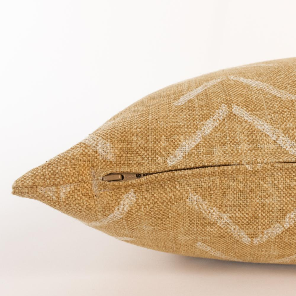 Tagus Cork, a mudcloth inspired pillow from Tonic Living