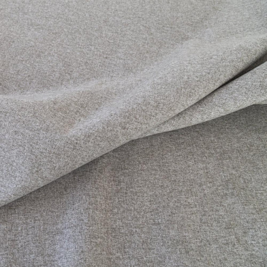 Tobermory Felt, Flannel, a gray felt fabric from Tonic Living