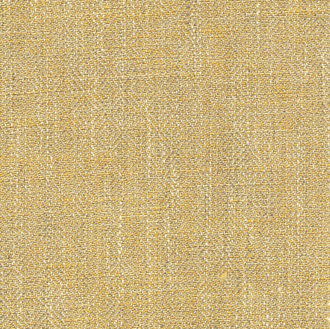 A chartreuse yellow fabric with a subtle cream coloured diamond pattern.