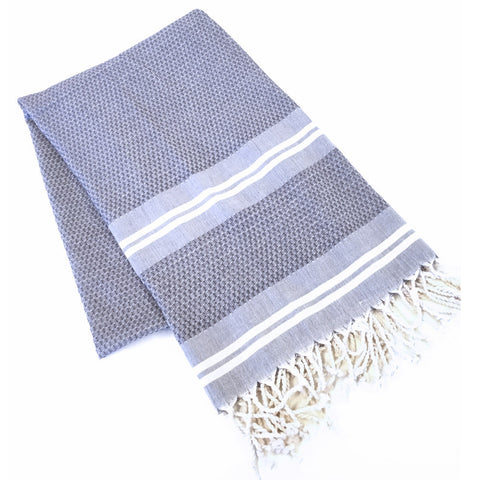 Turkish Towel - Samsun, Taupe