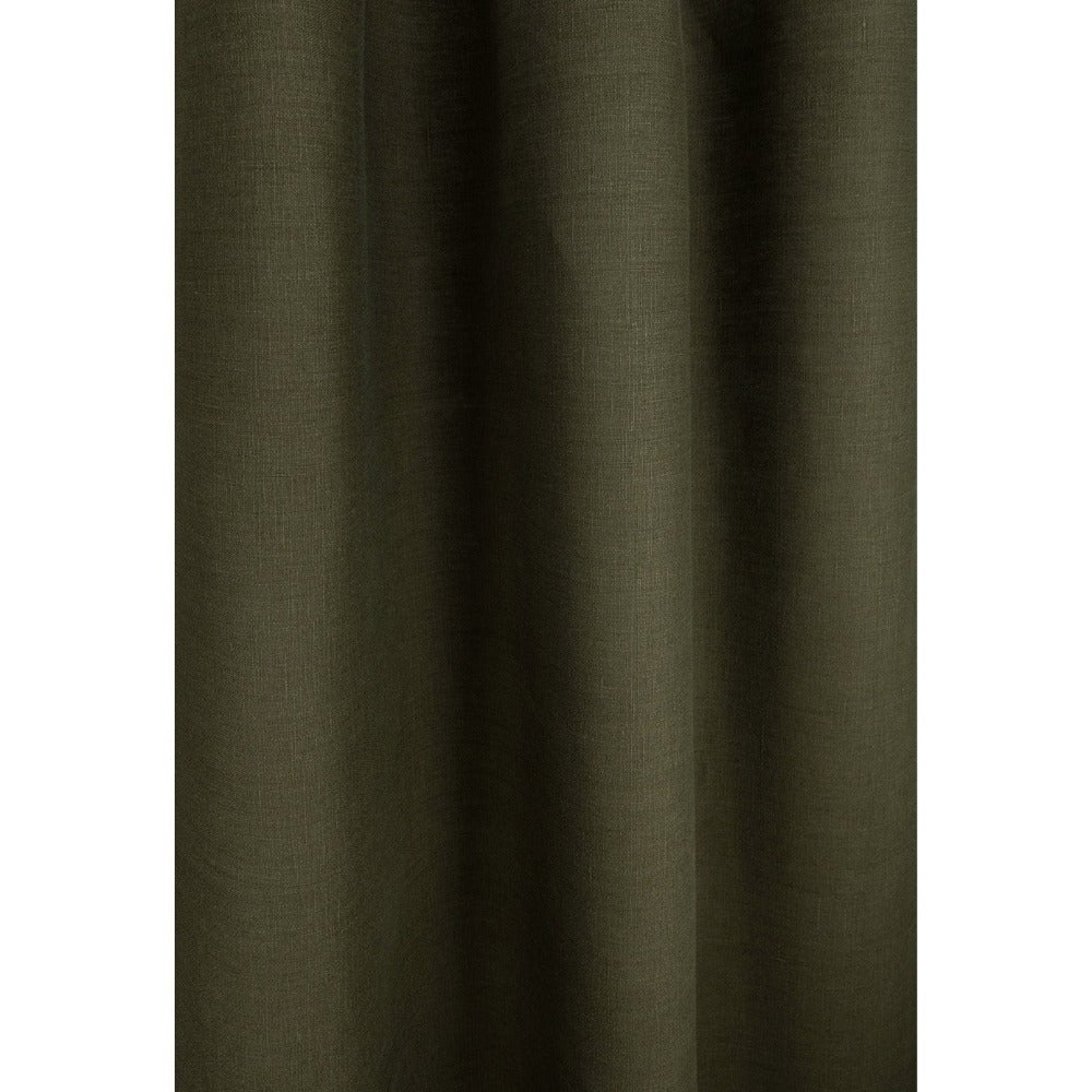 Tuscany Linen, Moss green fabric from Tonic Living