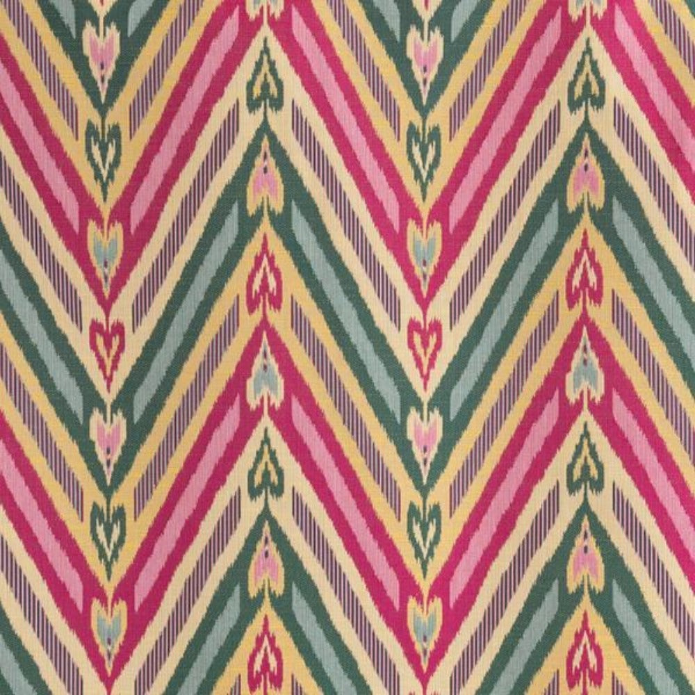Virginia, brightside bold colorful woven fabric from Tonic Living