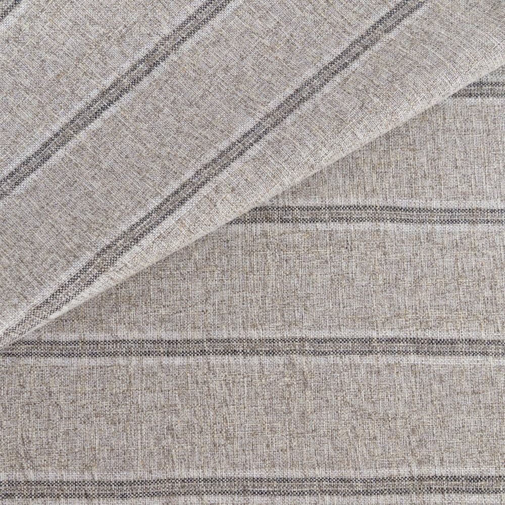 Yarmouth Stripe Zinc, gray stripe fabric from Tonic Living