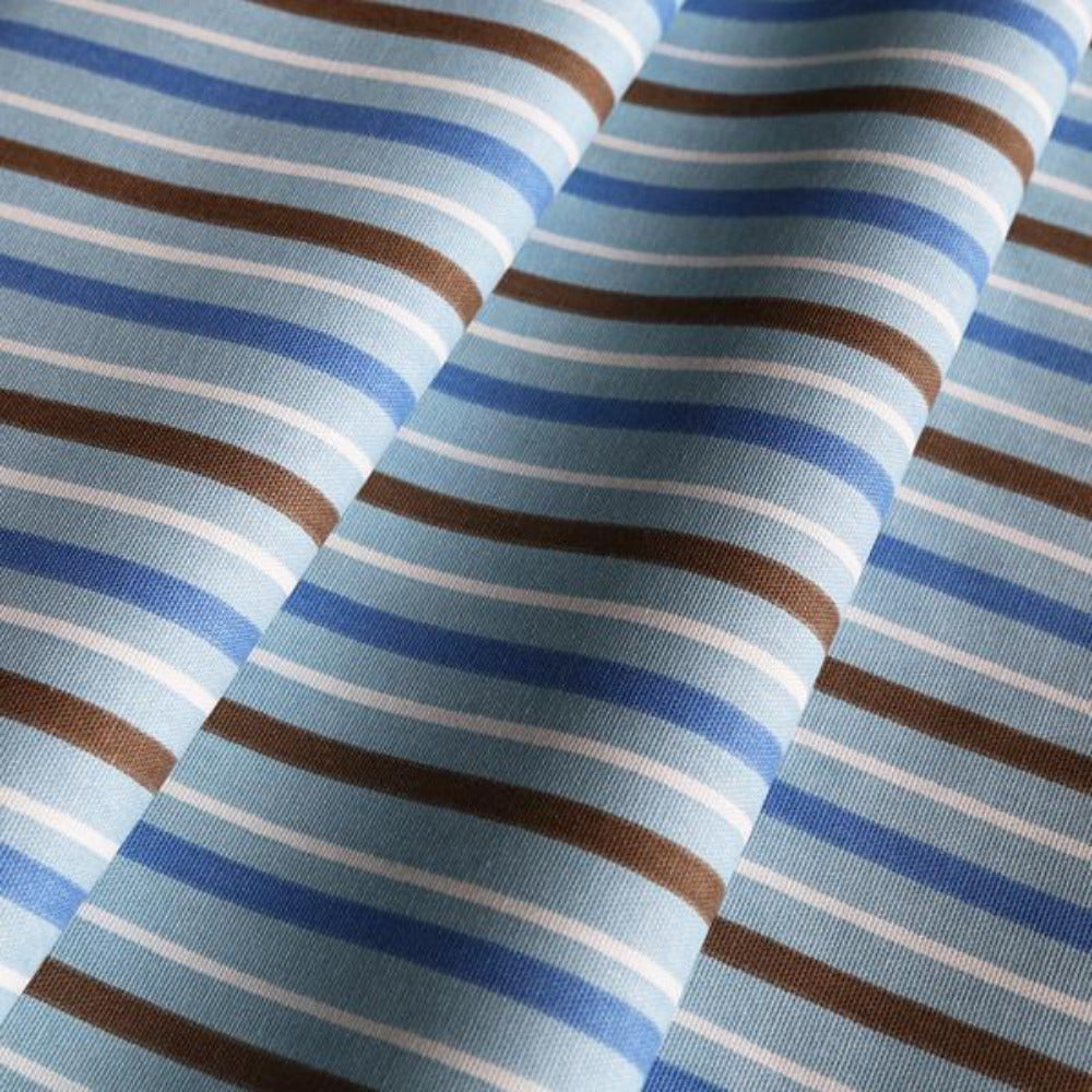 REMNANT - Zoo Stripe, Blue 54""