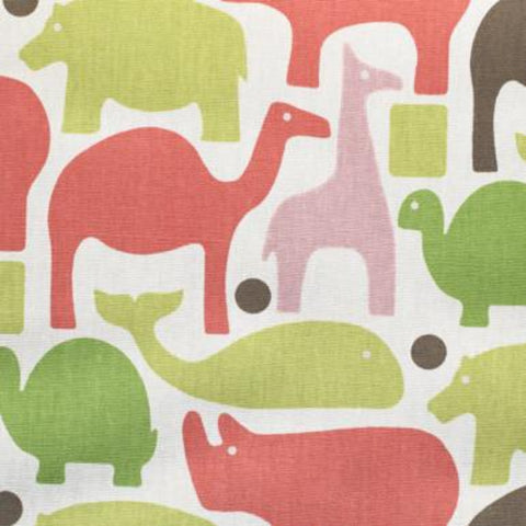 Zoo Pals, Pink Fabric - [Product_type] - Tonic Living