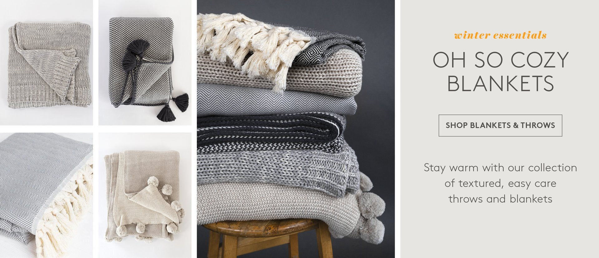Tonic Living Blankets and throws