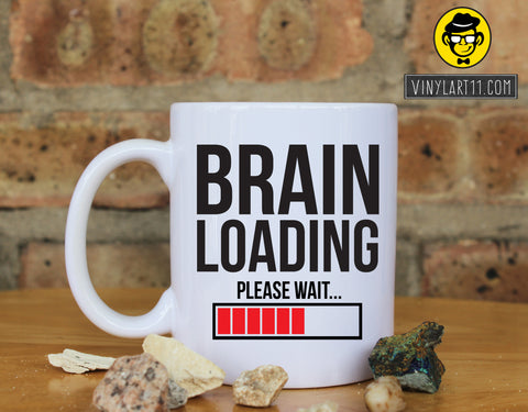 Brain Loading Ceramic Coffee Mug