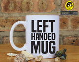 Left Handed Mug Funny Ceramic Coffee Mug