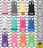 This Seems like a lot of work for a free banana. Womens Burnout tank.