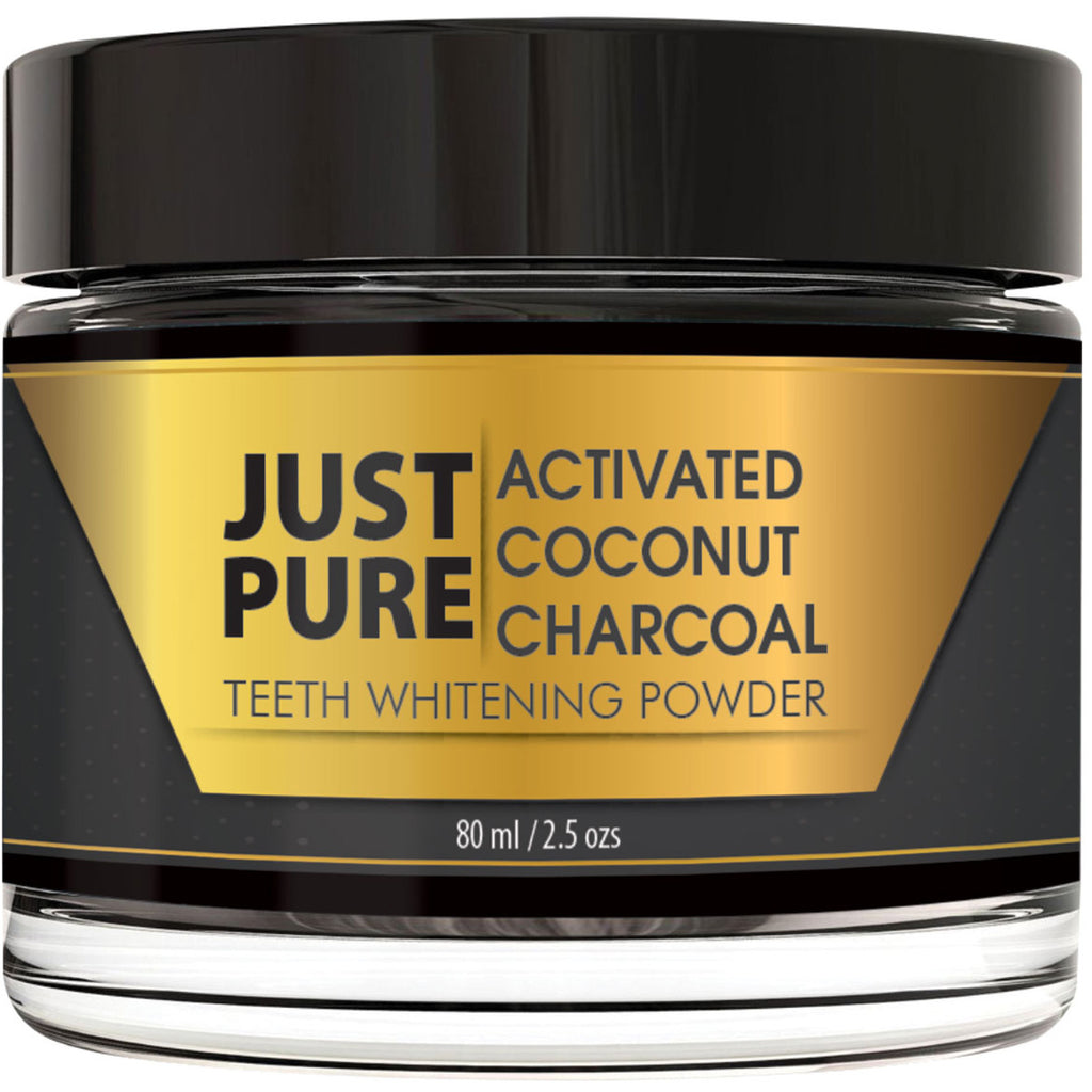Just Pure Activated Charcoal Teeth Whitener
