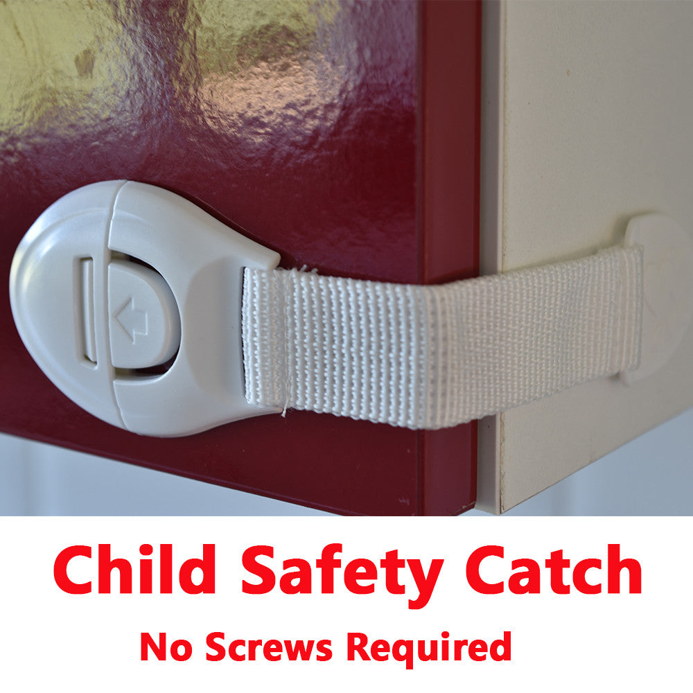 Felt Furniture Pads with FREE Child Safety Catch