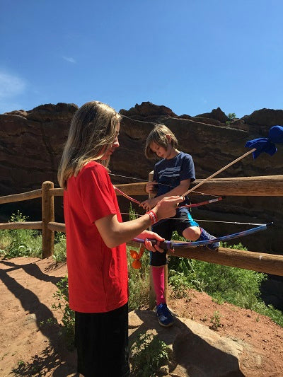 Teaching Your Kids Bow and Arrow Safety