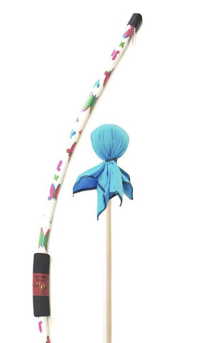 Butterfly Bow with Aqua Arrow