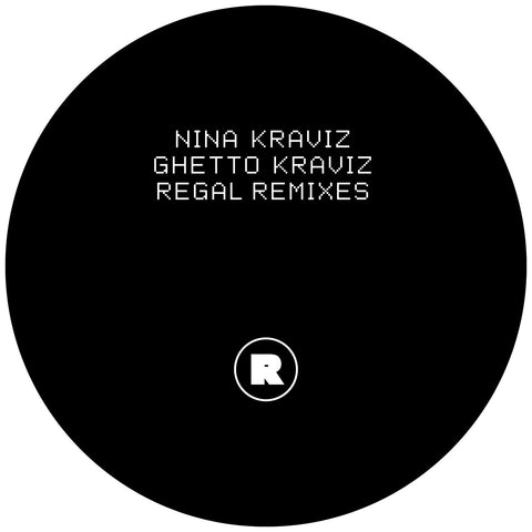 "Nina Kraviz - Ghetto Kraviz (Regal Remixes) (12"" Vinyl)"