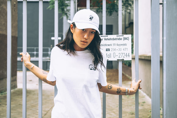 Peggy S/S White T-Shirt