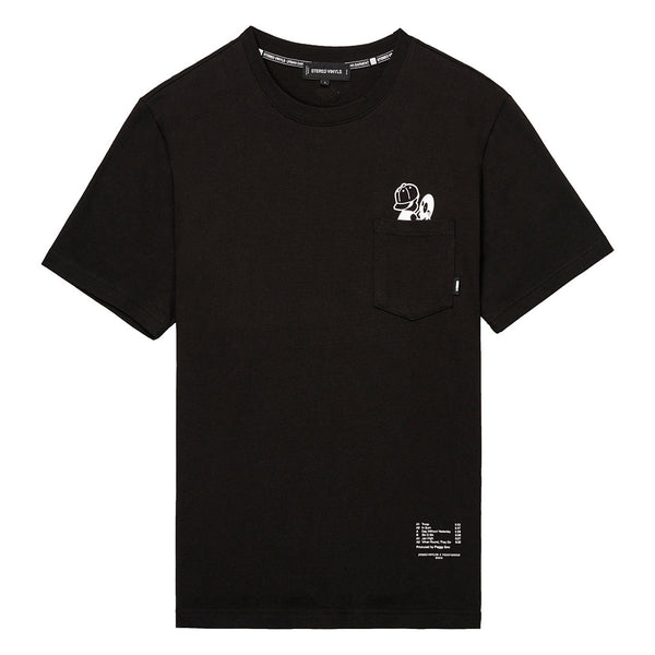 Peggy S/S Black T-Shirt