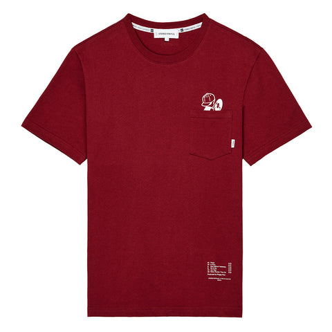 Peggy S/S Wine T-Shirt