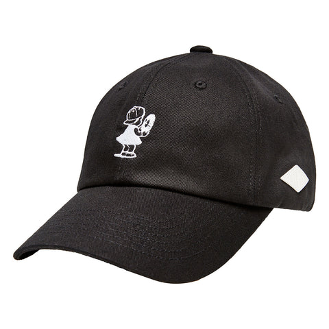 Peggy S/S Black 6-Panel Cap
