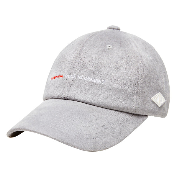 Peggy S/S Grey Suede 6-Panel Cap