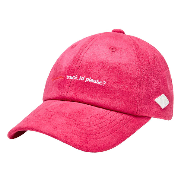 Peggy S/S Pink Suede 6-Panel Cap