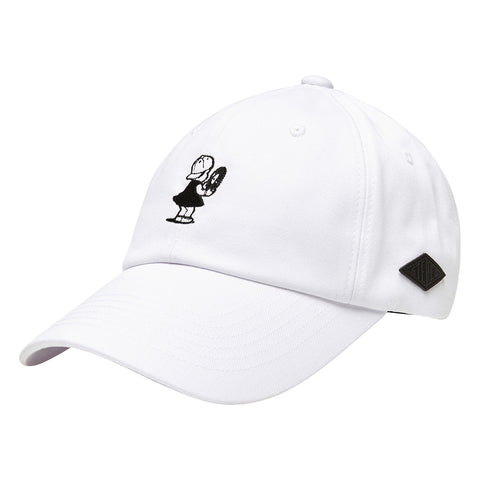 Peggy S/S White 6-Panel Cap