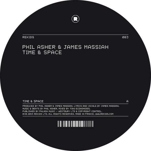 Phil Asher & James Massiah - Time & Space (Digital)