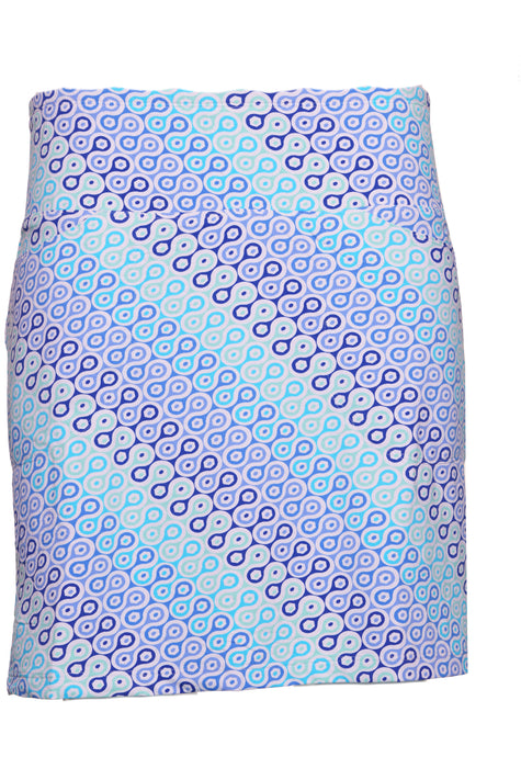 women's summer clothing, Ibkul Ribbon Candy Print Straight Skort, Skort, Ibkul, , , ladies golf and tennis fashion, golf accessories - From the Red Tees.