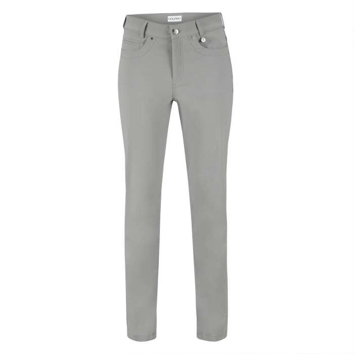 women's summer clothing, Golfino Sofia Pants-Silver Grey, Pants, Golfino, , , ladies golf and tennis fashion, golf accessories - From the Red Tees.