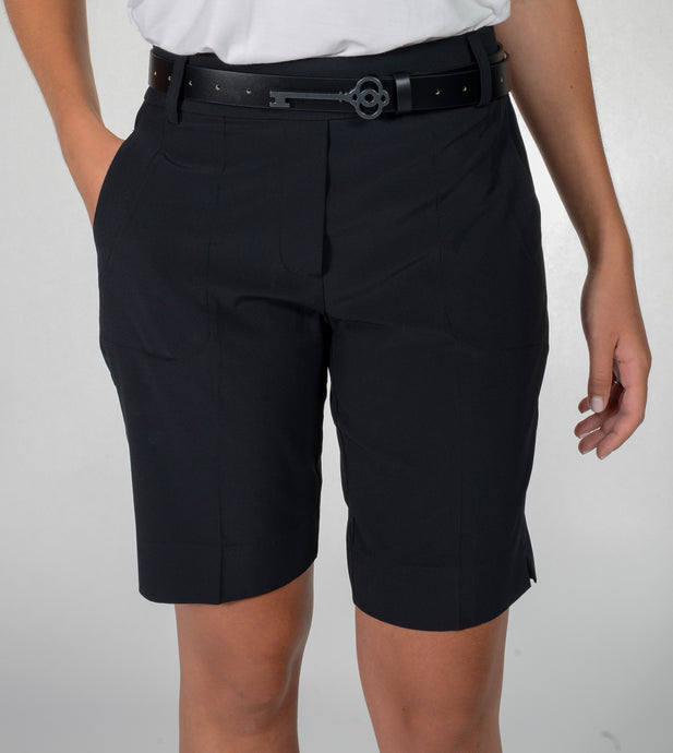 women's summer clothing, Belyn Key Black Shorts, Shorts, Belyn Key, , , ladies golf and tennis fashion, golf accessories - From the Red Tees.