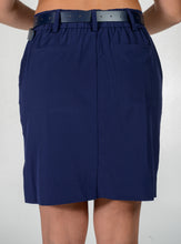 women's summer clothing, Belyn Key Trouser Skort-Navy, Skort, Belyn Key, , , ladies golf and tennis fashion, golf accessories - From the Red Tees.