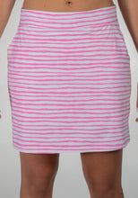 women's summer clothing, Belyn Key-Skort-Pink Striped, Skort, Belyn Key, XLarge, , ladies golf and tennis fashion, golf accessories - From the Red Tees.