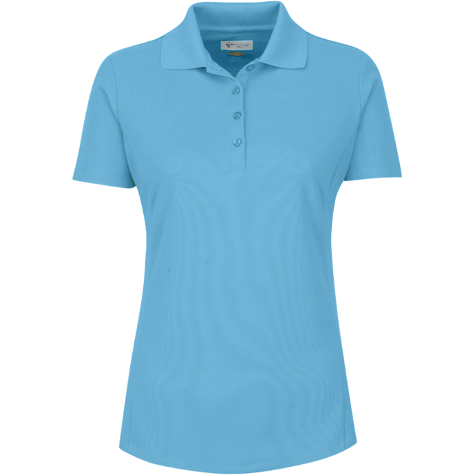 women's summer clothing, Greg Norman Short Sleeve Polo-Sky Blue, Short Sleeve Shirt, Greg Norman, , , ladies golf and tennis fashion, golf accessories - From the Red Tees.