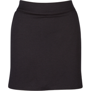 women's summer clothing, Greg Norman Honeycomb Skort-Carbon, Skort, Greg Norman, , , ladies golf and tennis fashion, golf accessories - From the Red Tees.