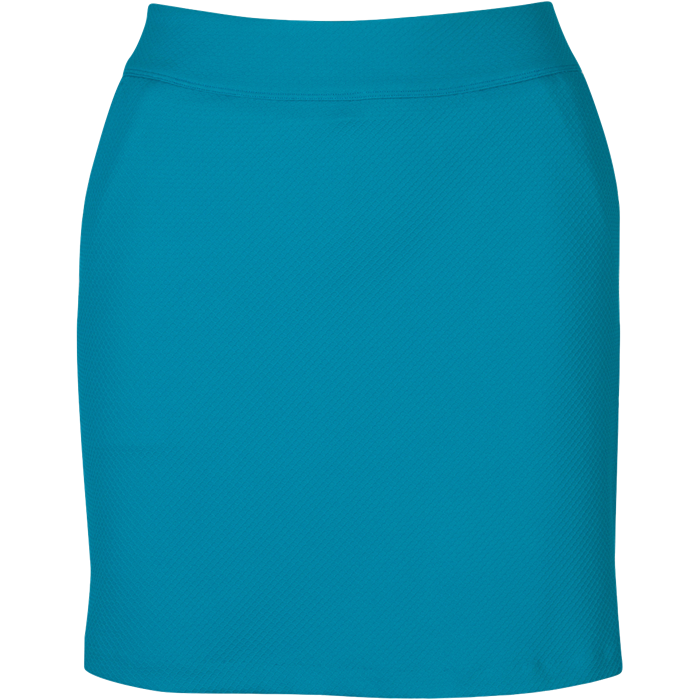 women's summer clothing, Greg Norman Honeycomb Skort-Peacock, Skort, Greg Norman, , , ladies golf and tennis fashion, golf accessories - From the Red Tees.