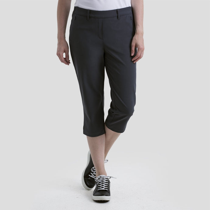 women's summer clothing, Nivo Neo Capri Charcoal, Capri, Nivo, , , ladies golf and tennis fashion, golf accessories - From the Red Tees.