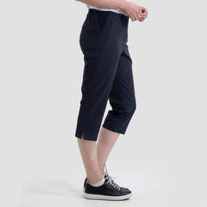 women's summer clothing, Nivo Neo Capri Navy, Capri, Nivo, , , ladies golf and tennis fashion, golf accessories - From the Red Tees.