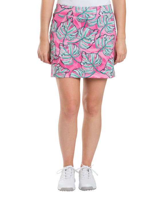 women's summer clothing, Sydney Elizabeth Palm Skort, Skort, Sydney Elizabeth, X-Large, , ladies golf and tennis fashion, golf accessories - From the Red Tees.
