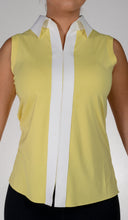 women's summer clothing, Belyn Key Sleeveless Shirt-Yellow, Sleeveless Shirt, Belyn Key, , , ladies golf and tennis fashion, golf accessories - From the Red Tees.