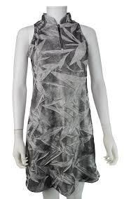 women's summer clothing, Jamie Sadock Silver Dress, Dress, Jamie Sadock, , , ladies golf and tennis fashion, golf accessories - From the Red Tees.